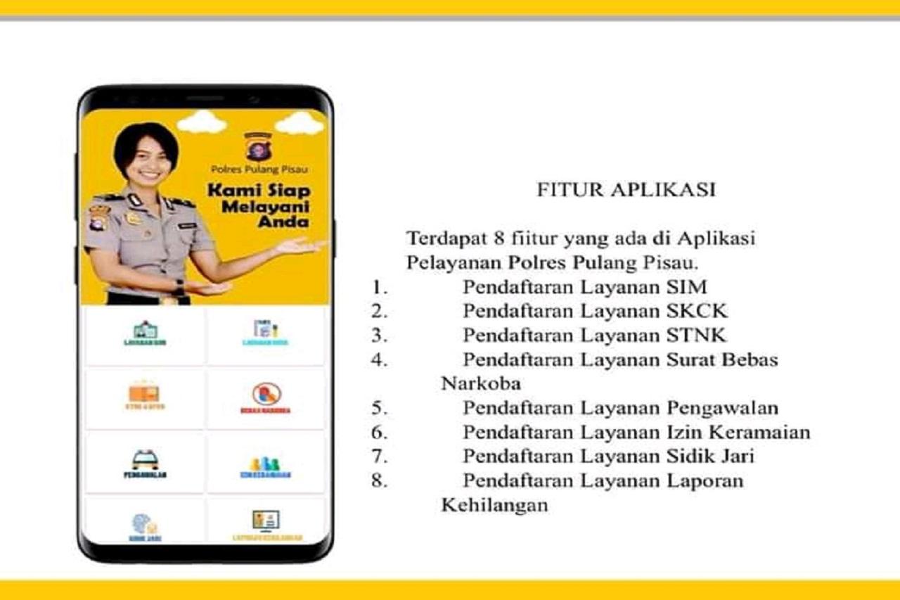 Kapolres Ajak Masyarakat Download Aplikasi Layanan Polres