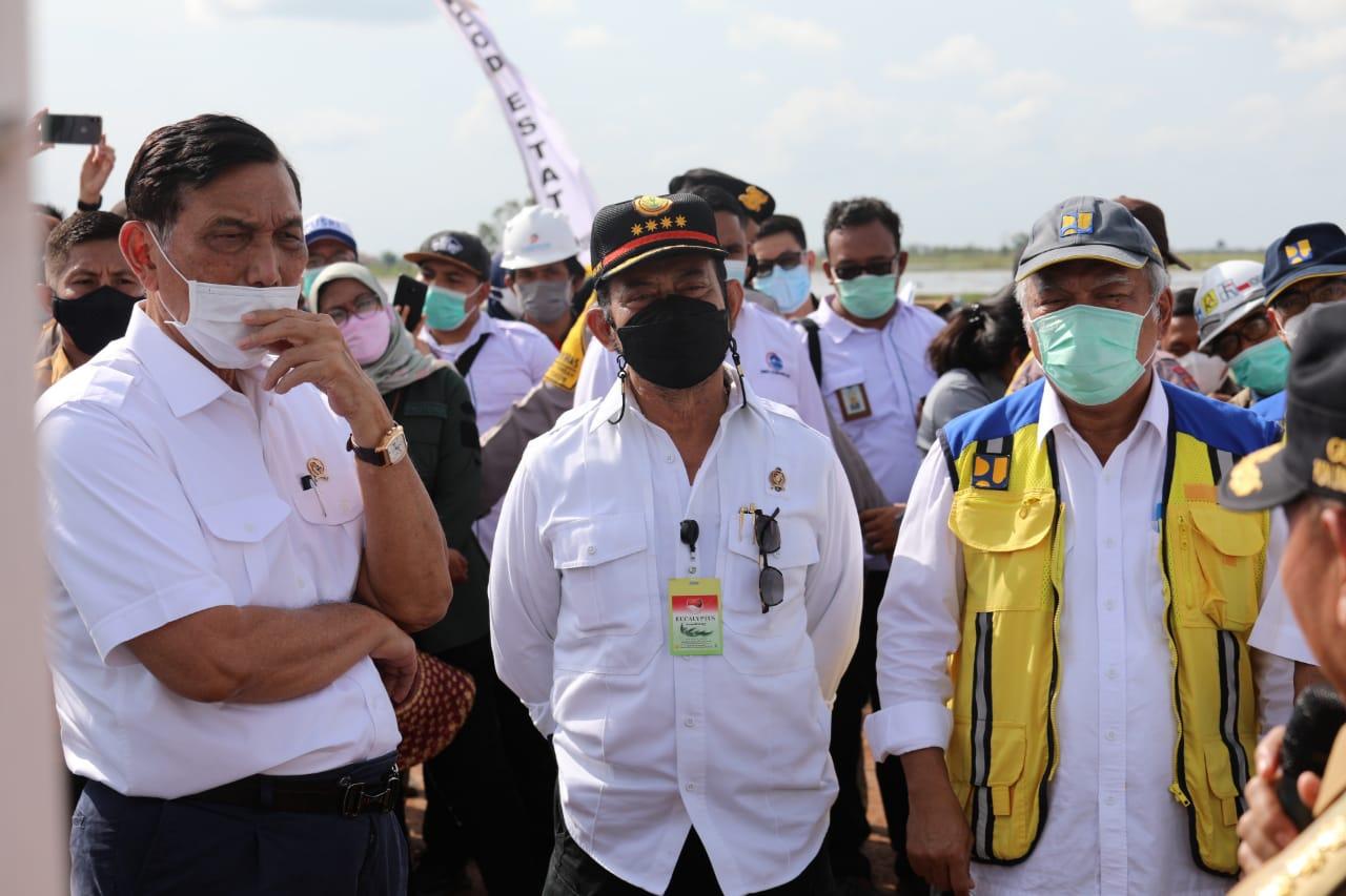 Gubernur Kalteng Sampaikan Usulan Pembangunan Pelabuhan Utama Kepada Menko Marves