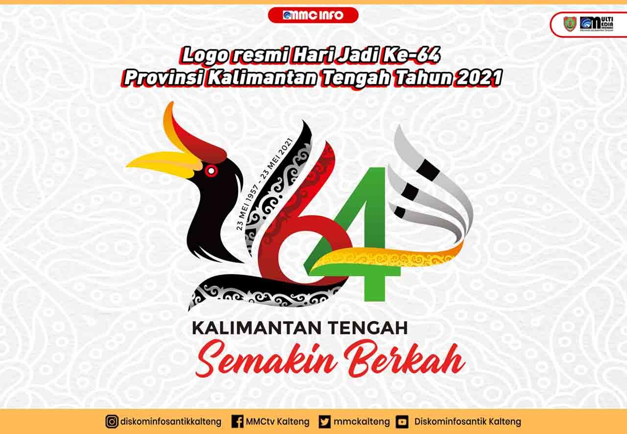 Logo resmi Hari Jadi ke 20 Provinsi Kalimantan Tengah Tahun 20 ...