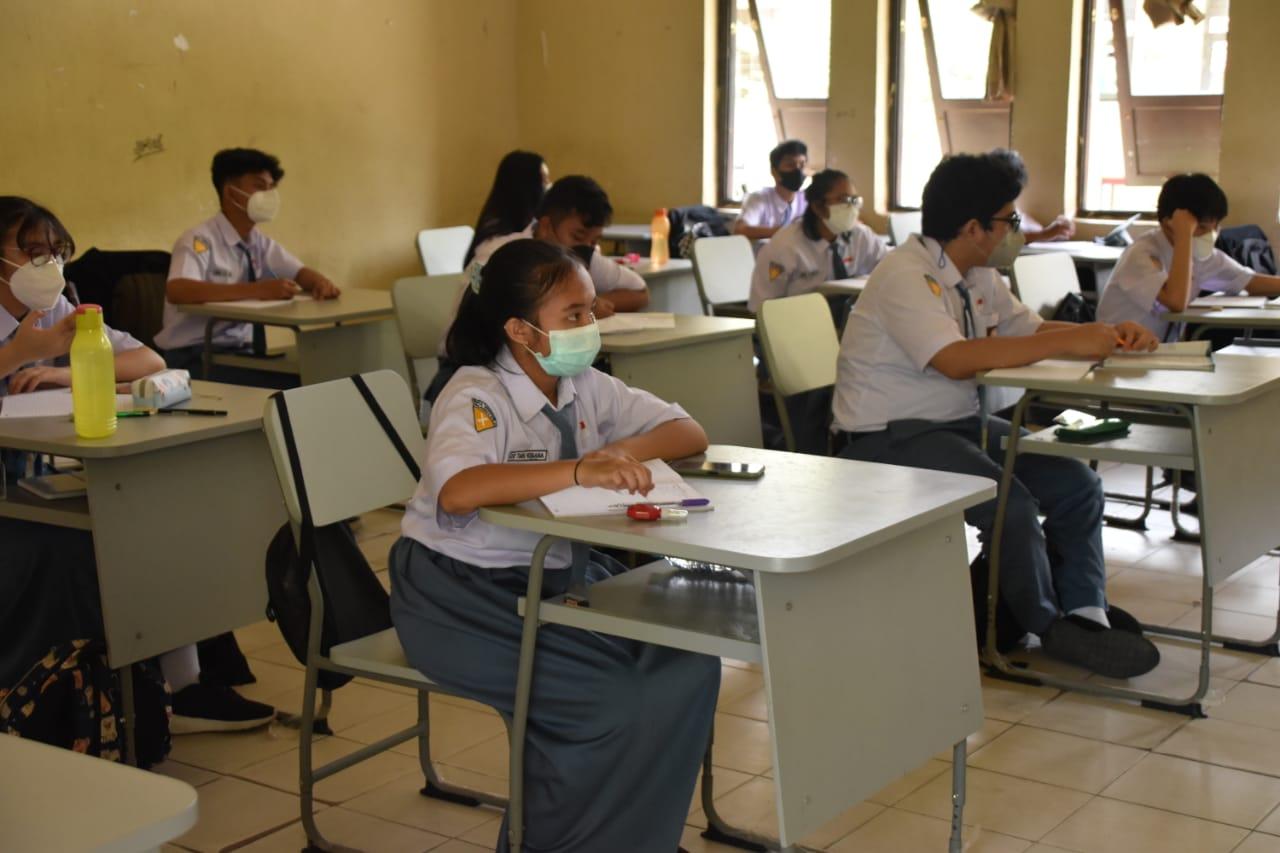 Pemprov Kalteng Gelar Pencanangan PTM Terbatas SMA/SMK/SLB se Kalteng