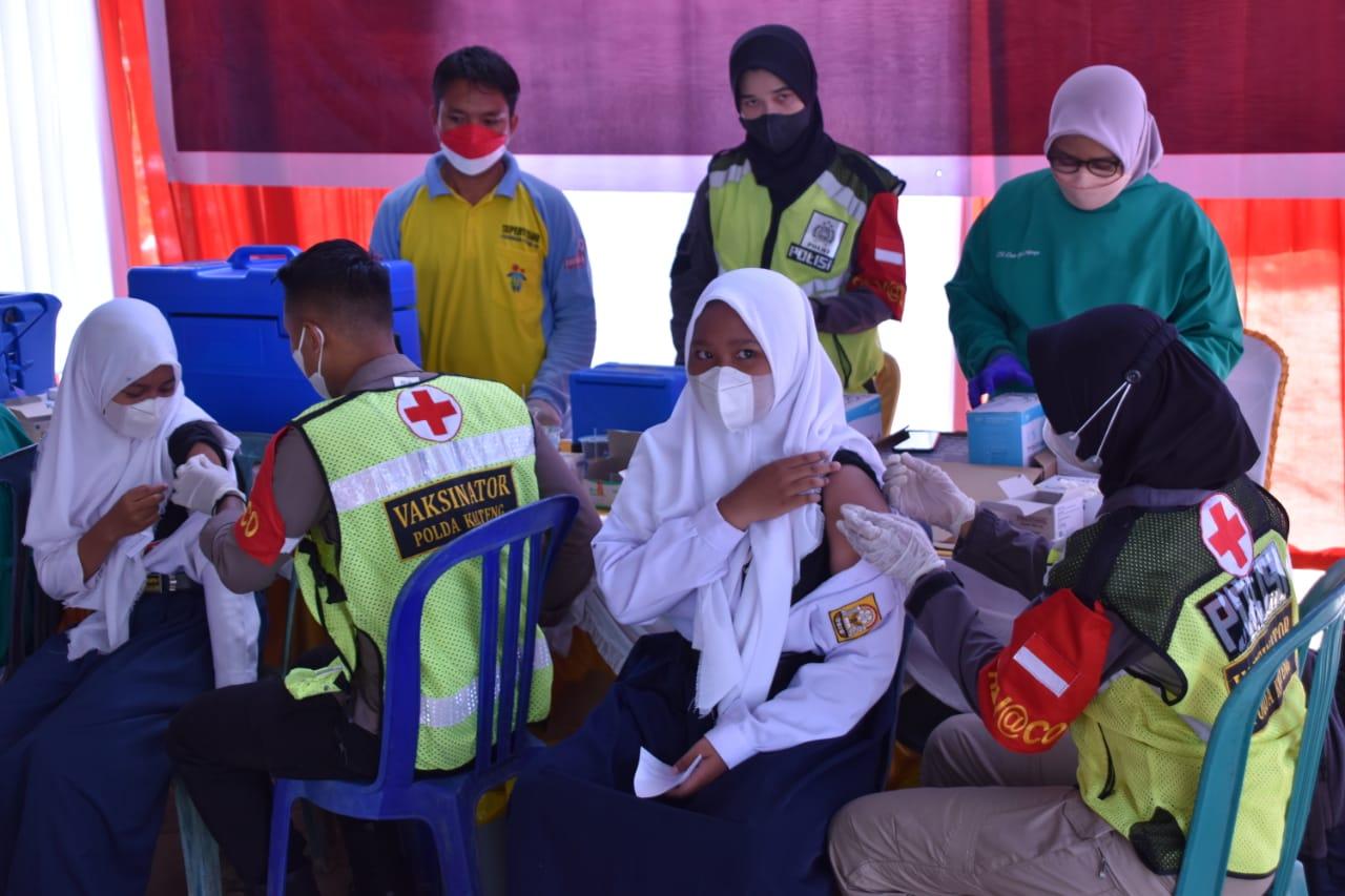 Gubernur Kalteng : Vaksinator Kita Siap dan Cukup Untuk Marathon Percepatan Vaksinasi