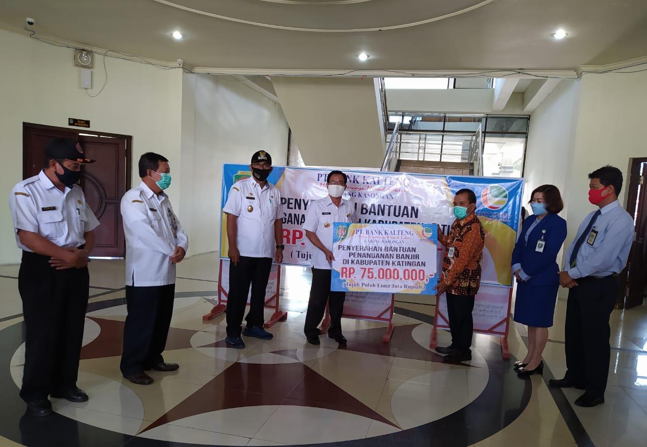 Pemkab Katingan Terima Bantuan Untuk Korban Banjir Multimedia Center Provinsi Kalimantan Tengah