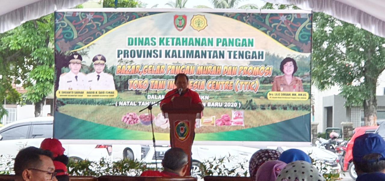 Gelar Pangan Murah Dan Promosi Toko Tani Indonesia Centre Ttic Multimedia Center Provinsi Kalimantan Tengah
