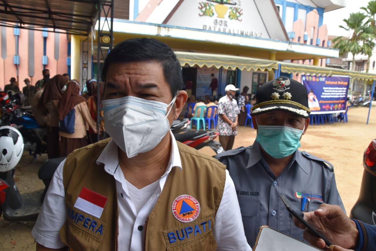 Pencanangan Vaksinasi Massal Bagi Pelajar di Kabupaten Barito Timur