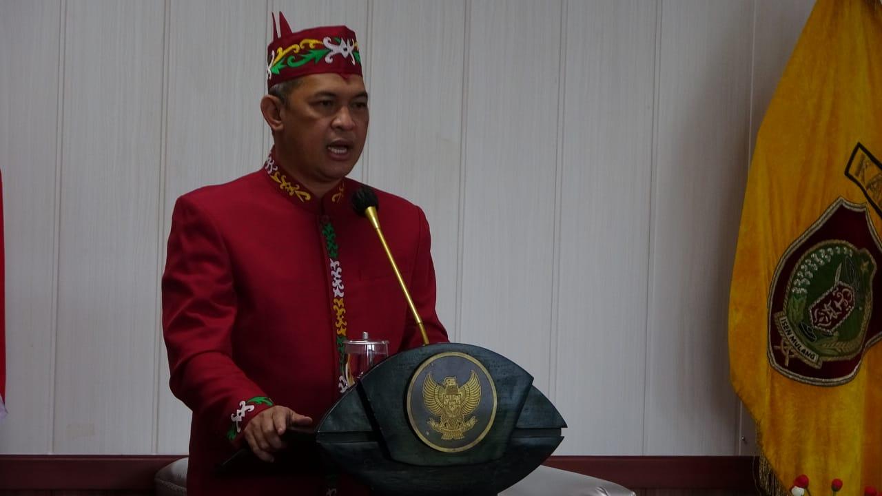 Sekda Kalteng Hadiri Peringatan Hari Jadi ke-215 Kota Kuala Kapuas dan Hari Jadi ke-70 Pemerintah Kabupaten Kapuas