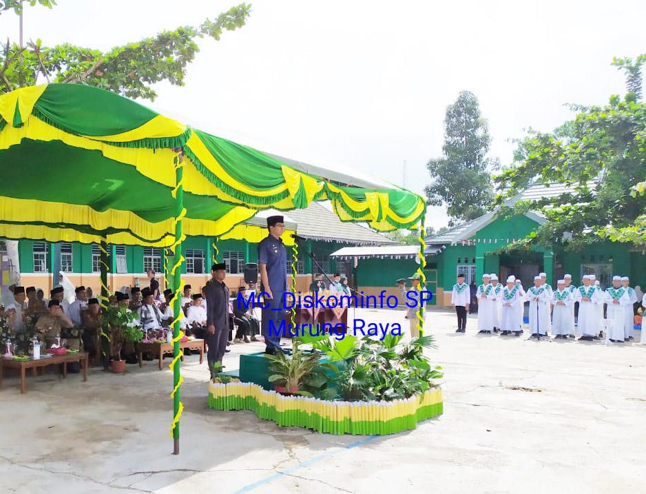 Upacara Peringatan Hari Santri Nasional di Murung Raya