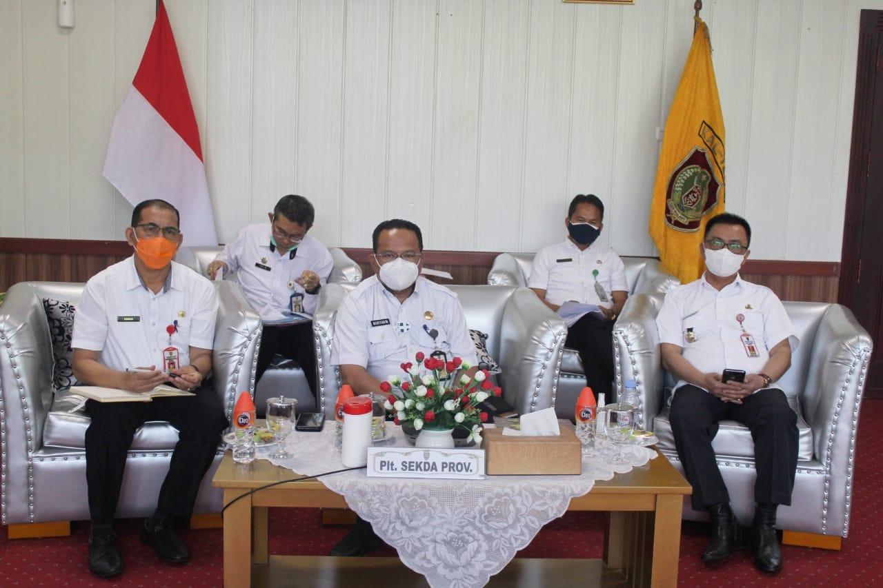 Plt. Sekretaris Daerah Kalteng Pimpin Rapat Koordinasi APPSI Regional Kalimantan