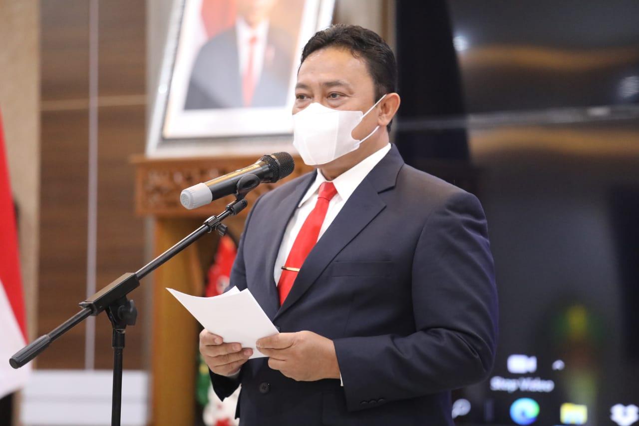 Wakil Gubernur H. Edy Pratowo Hadiri Pelantikan dan Pengukuhan IKAL – Lemhanas Dewan Pengurus Daerah Provinsi Kalteng Masa Bakti 2021-2026