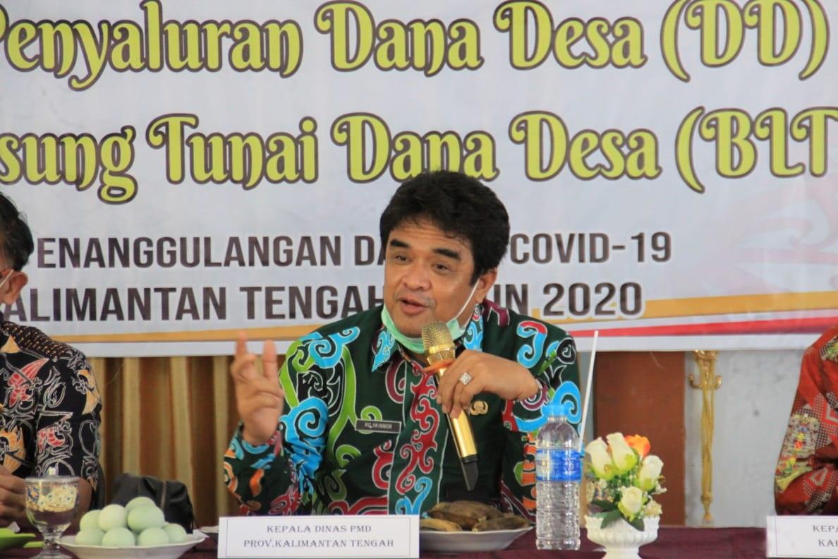 Lomba Desa dan Kelurahan Tingkat Provinsi Kalteng Tahun 2021