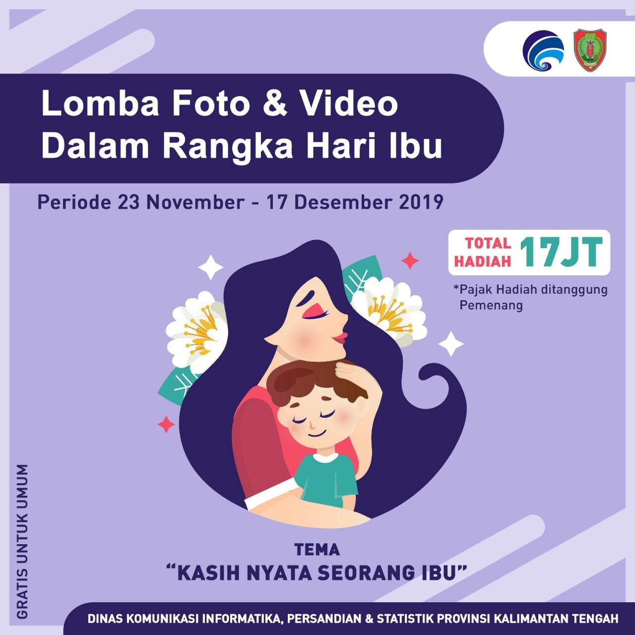 Bahasa Inggris Hari Ibu Rumah Tangga Peringati Hari Ibu Pemprov Kalteng Gelar Lomba Foto Dan Video Multimedia Center Provinsi Kalimantan Tengah