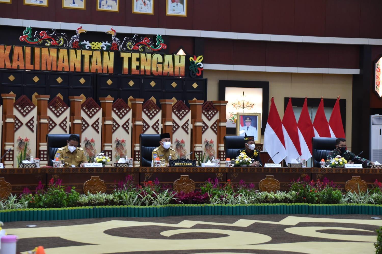 Gubernur Minta Para Tokoh di Kalteng Bantu Penanganan Covid-19