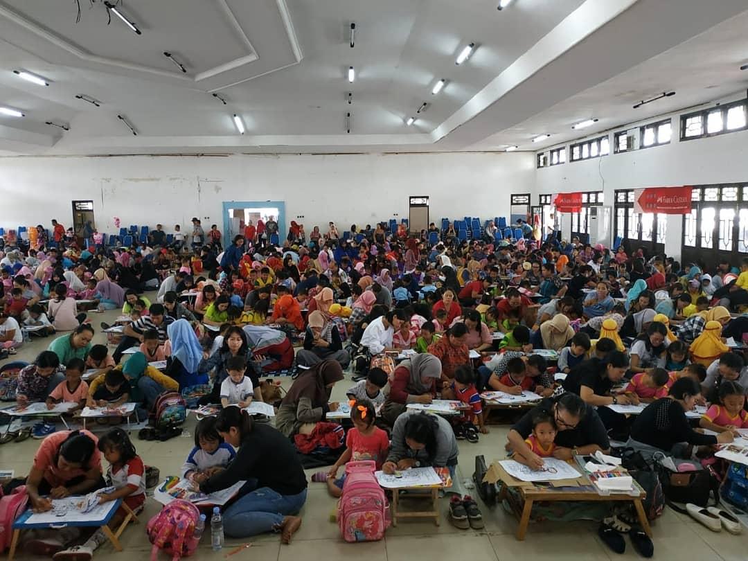 Lomba Mewarnai Gambar Ibu Dan Anak Multimedia Center Provinsi